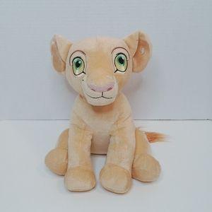 "Disney Lion King Nala Plush, 10"" Tall, Rare"